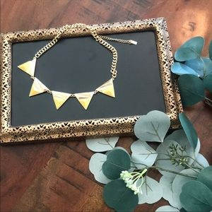 Baublebar Triangle Necklace in Dipped Yellow